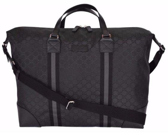 gucci black travel bag
