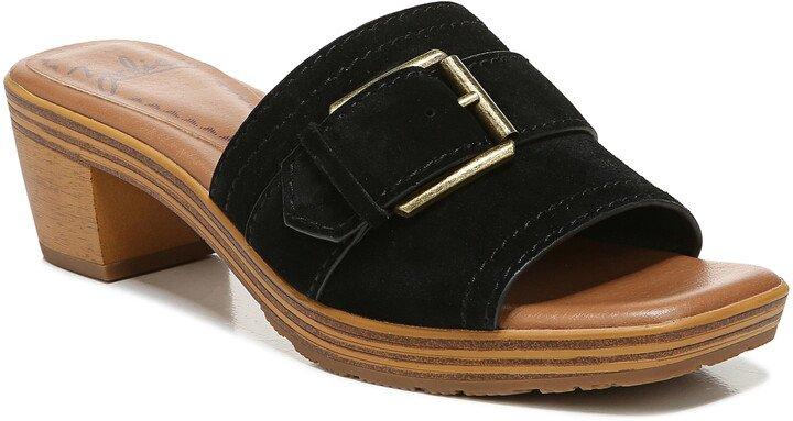 Sienna Block Heel Slide Sandal
