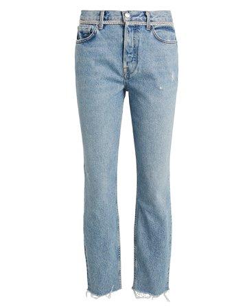 GRLFRND | Karolina High-Rise Skinny Jeans | INTERMIX®