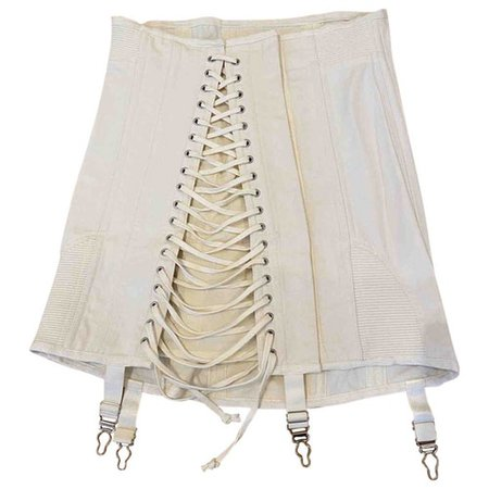 Mini skirt Orseund Iris White size S International in Cotton - 9089366