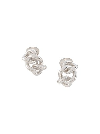 Christian Dior Boucles d'oreilles à Design De Nœud - Farfetch