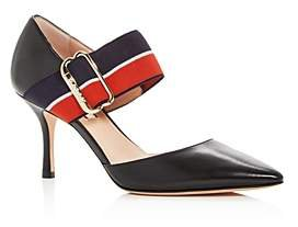 Bette Pointed-Toe Mary-Jane Pumps