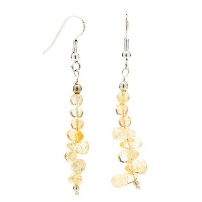 Buy Citrine Earrings | Mystic Self LLC
