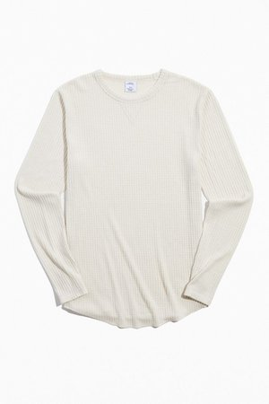Standard Cloth Joseph Thermal Long Sleeve Shirt   Urban Outfitters