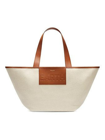 Demellier The Earth Tote — Fighting Plastic Pollution | SaksFifthAvenue
