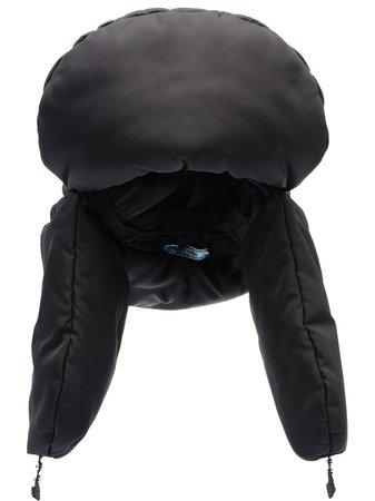 Black Prada padded trapper hat - Farfetch