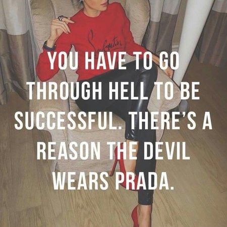 The devil wears Prada shared by ņįķīţą on We Heart It