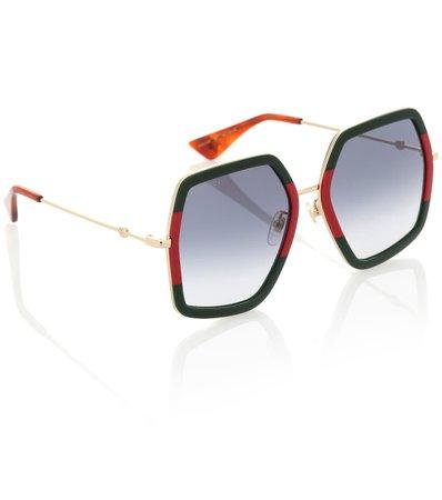 Square Sunglasses   Gucci - mytheresa