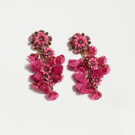 J.Crew: Bloom Statement Earrings For Women