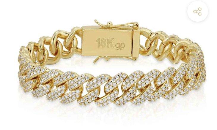 mens gold gold bracelet