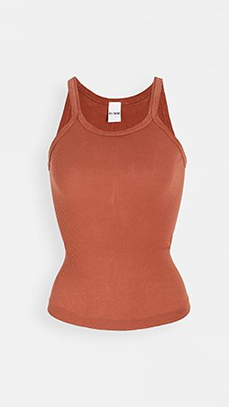 RE/DONE Ribbed Tank | SHOPBOP