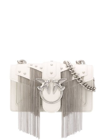 Pinko Fringed Love Crossbody Bag Ss20 | Farfetch.com
