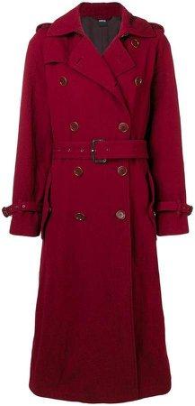 boxy trench coat