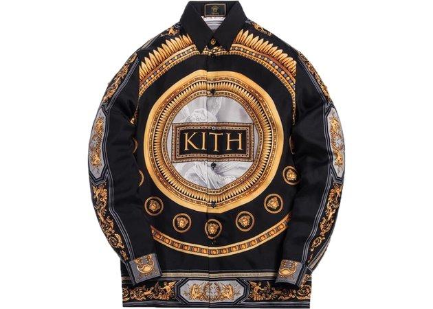 Kith x Versace Silk Shirt Greco - SS19