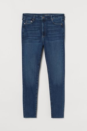 H&M+ Shaping High Jeans - Blue