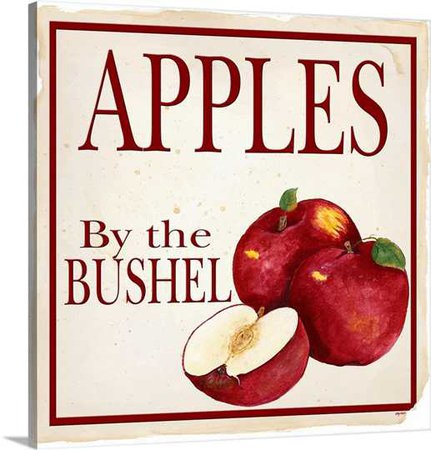 Apples by the Bushel Wall Art, Canvas Prints, Framed Prints, Wall Peels | Great Big Canvas