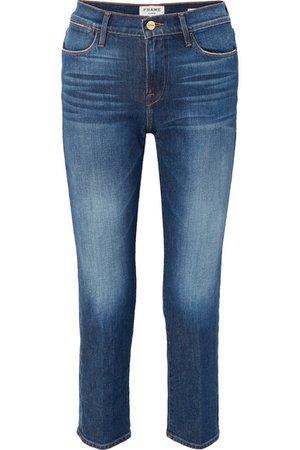 FRAME | Le High straight-leg jeans | NET-A-PORTER.COM