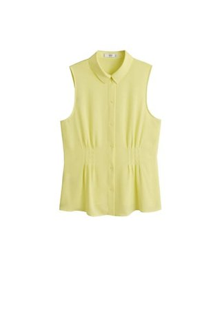 MANGO Shirt collar top
