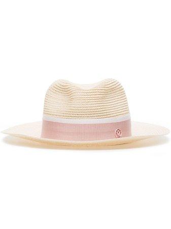 Maison Michel Henrietta Fedora Hat - Farfetch