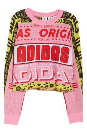 adidas Originals OG Logo Print Sweatshirt | Nordstrom