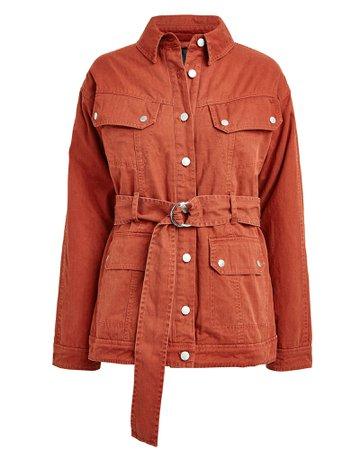 Ellery Cotton Cargo Jacket