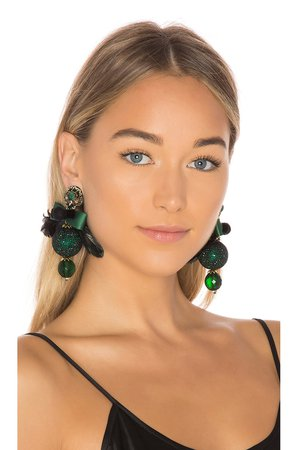 Drop Bow Earring