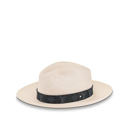 Monogram Eclipse Panama Hat - Accessories | LOUIS VUITTON ®