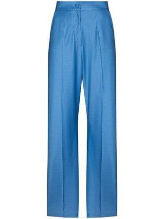 Materiel high-rise straight-leg Trousers - Farfetch