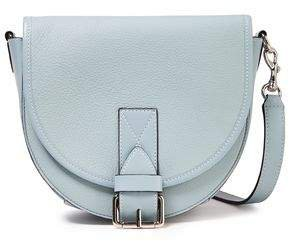 Small Bike Smooth And Pebbled-leather Shoulder Bag