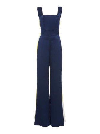 Blue Velvet Jumpsuit