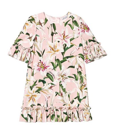 dolce & gabbana dress lily