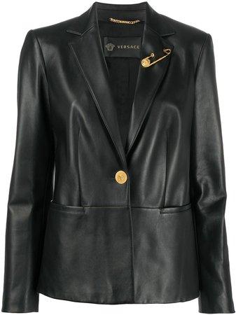 Versace Slim Fit Blazer - Farfetch