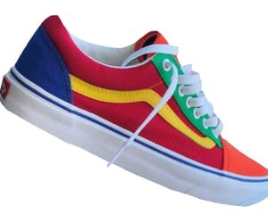 primary colored vans!! discovered by alyssa on We Heart It
