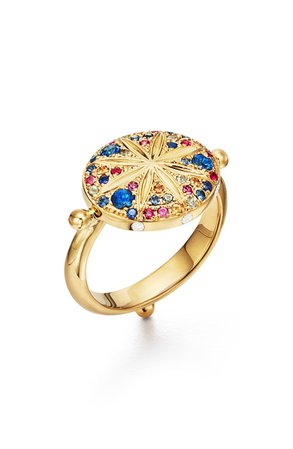 Temple St. Clair Sorcerer Diamond & Sapphire Ring | Nordstrom