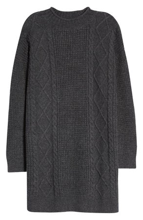 BP. Cable Knit Sweater Dress | Nordstrom