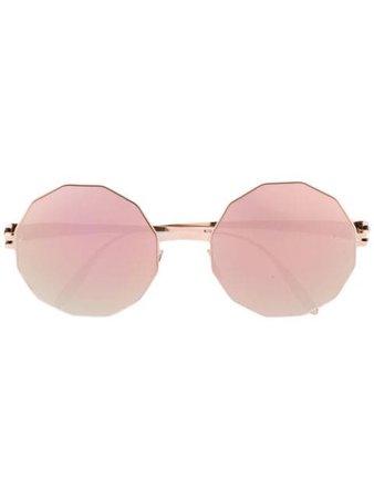 Yellow Mykita VERUSCHKA sunglasses - Farfetch