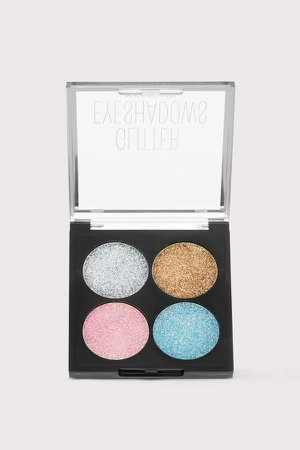 Glittery Eyeshadow Palette - Gold