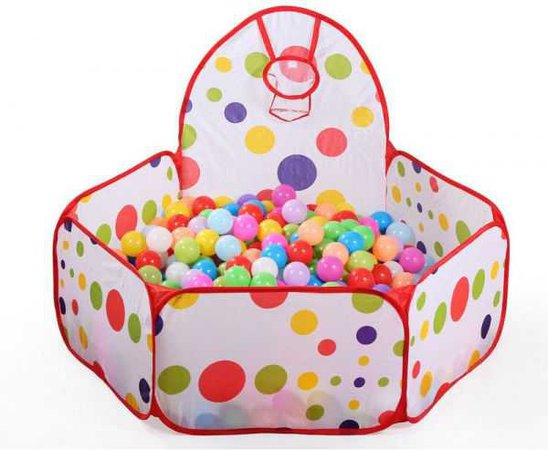 Souq | Foldable Colorful Play Toy Tent Ocean Ball Pit Pool For Kids SZ1004 | UAE