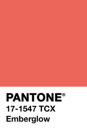 #pantone #color #emberglow #pink #coral #art #palette