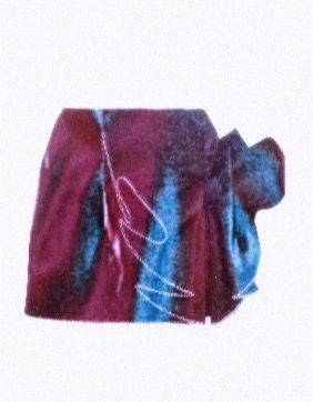 AREA Satin Mini Skirt