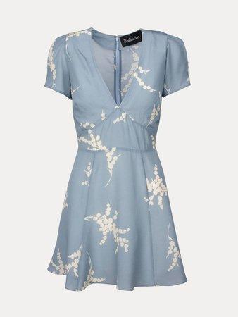 REALISATION - THE LUELLA in Summer Loving Blue Dress
