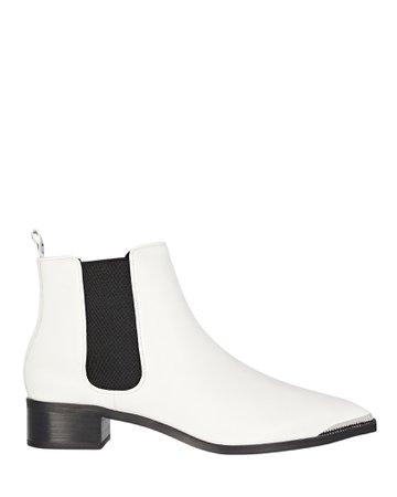 Senso Latoya Flat Leather Ankle Boots   INTERMIX®