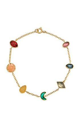 Rainbow Mini Charm Bracelet By Grainne Morton | Moda Operandi