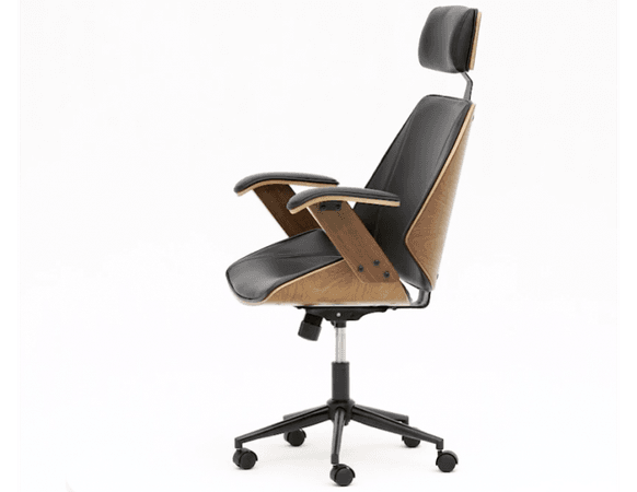 199 COVE Black Office chair   Structube