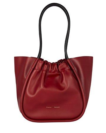 Proenza Schouler Ruched L Leather Tote | INTERMIX®