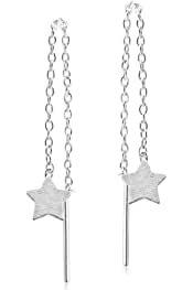 Amazon.com: star dangle earrings silver - Women: Clothing, Shoes & Jewelry