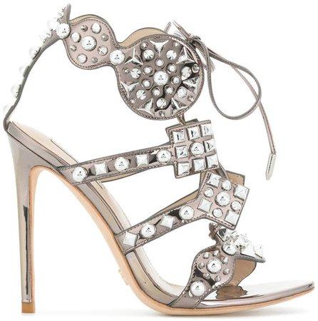 Gianni Renzi embellished sandals