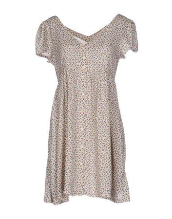 Denim & Supply Ralph Lauren Dot-Print Keyhole Dress with Mini Star Print