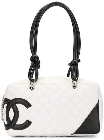 Chanel Pre Owned 2004 Cambon line diamond quilted shoulder bag