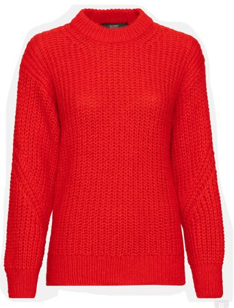 Hallhuber Pullover red